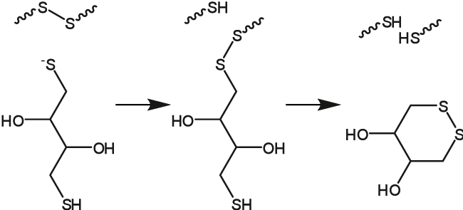 図1. Cleland試薬 -DTT-
