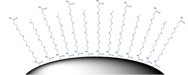 図3. ナノ粒子のコーティング