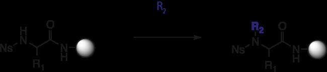 図5. 光延反応による N-メチル化/アルキル化