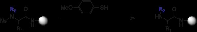 図8. ブロモ酢酸とアミンを用いたN-置換グリシンの2段階合成